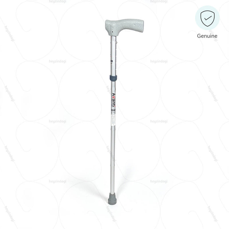 Avanti Folding L-Shape Walking Stick (Aluminium)