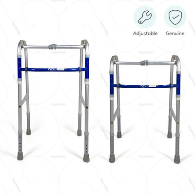 100% Genuine and height adjustable walker (2937) by Vissco India | heyzindagi.com- a health & wellness site for differently abled