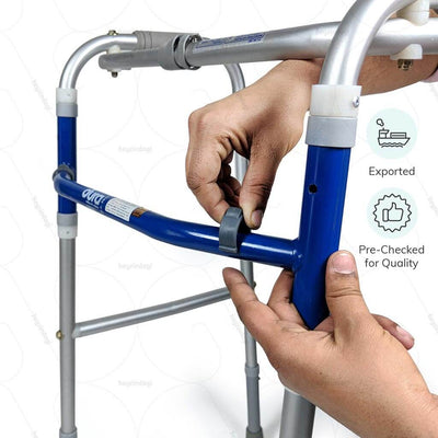 Best walker for elderly (2937)  by Vissco India.   Exported & pre checked for quality  | heyzindagi.com- an online shop for elders