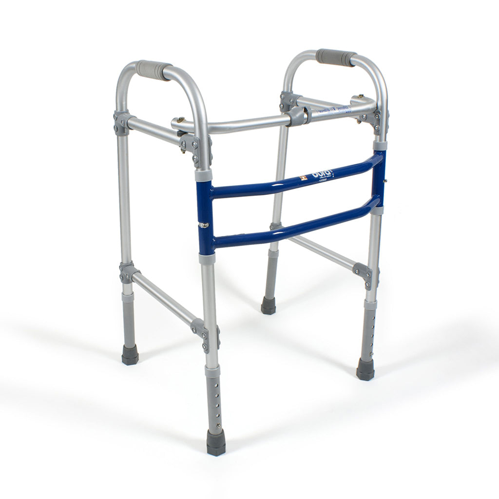 Aluminium Frame Dura Max Folding Walker (2901) by Vissco India | Order online at Heyzindagi.in