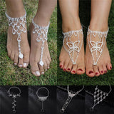 Barefoot Sandals Beach Beach Anklet Jewelry