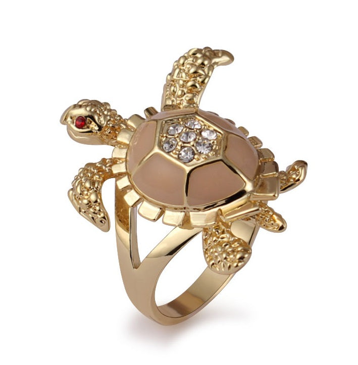 Sea Turtle Ring For Women Blenfy Store