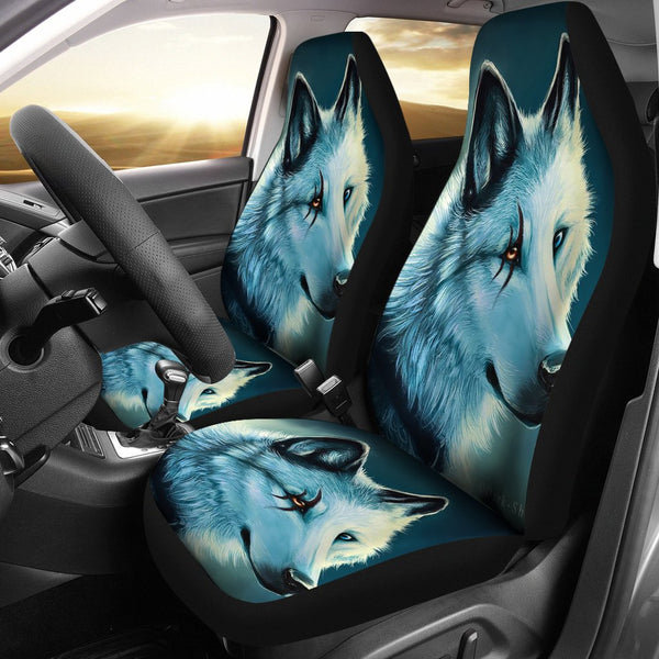 Wolf Spirit Car Seat Covers Blenfy Store