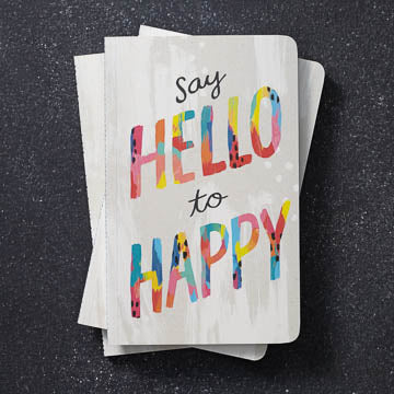 Say hello to happy...