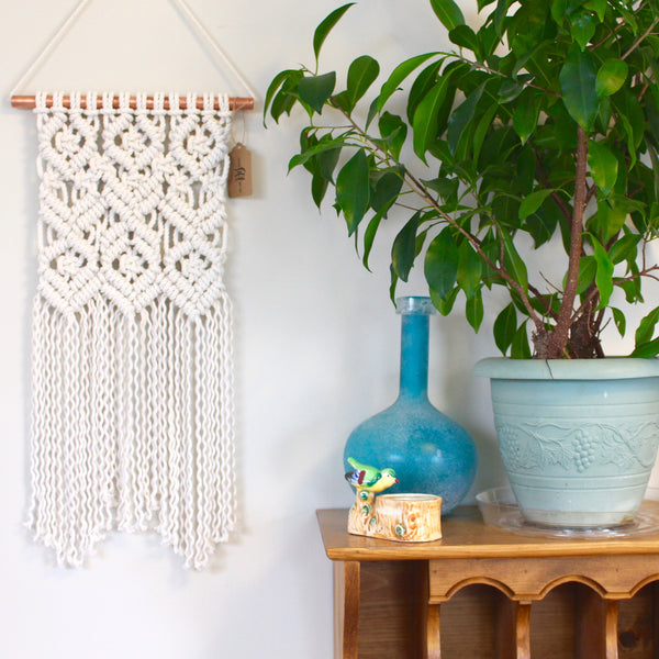 Cori / Diamonds and Exes Macrame Wall Hanging