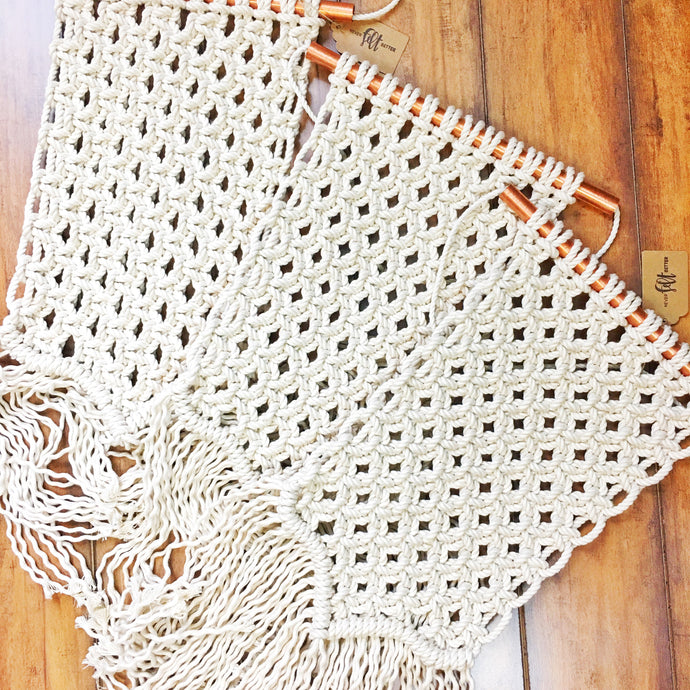 Macrame Wall Hanging Workshop with Michigan Barn Wood & Salvage