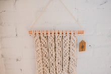 Sienna / Diamond Pattern Macrame Wall Hanging