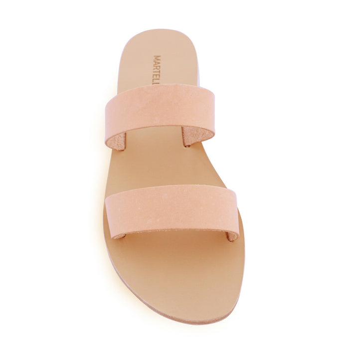 Olivia (Naturale) - Custom made leather sandals