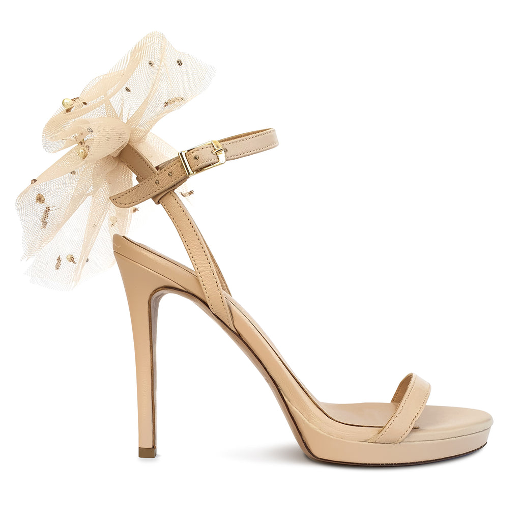 MELISSA nude leather + SEMELE
