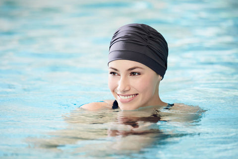 Wave Swim Cap Christine Headwear Collection