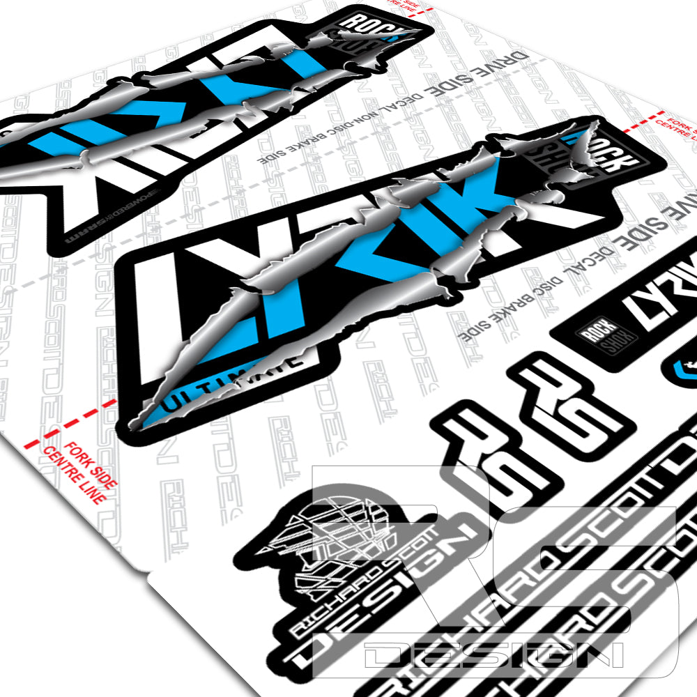 Fall 2020 Decals.2020 Rs Lyrik Ultimate Ripper Decals