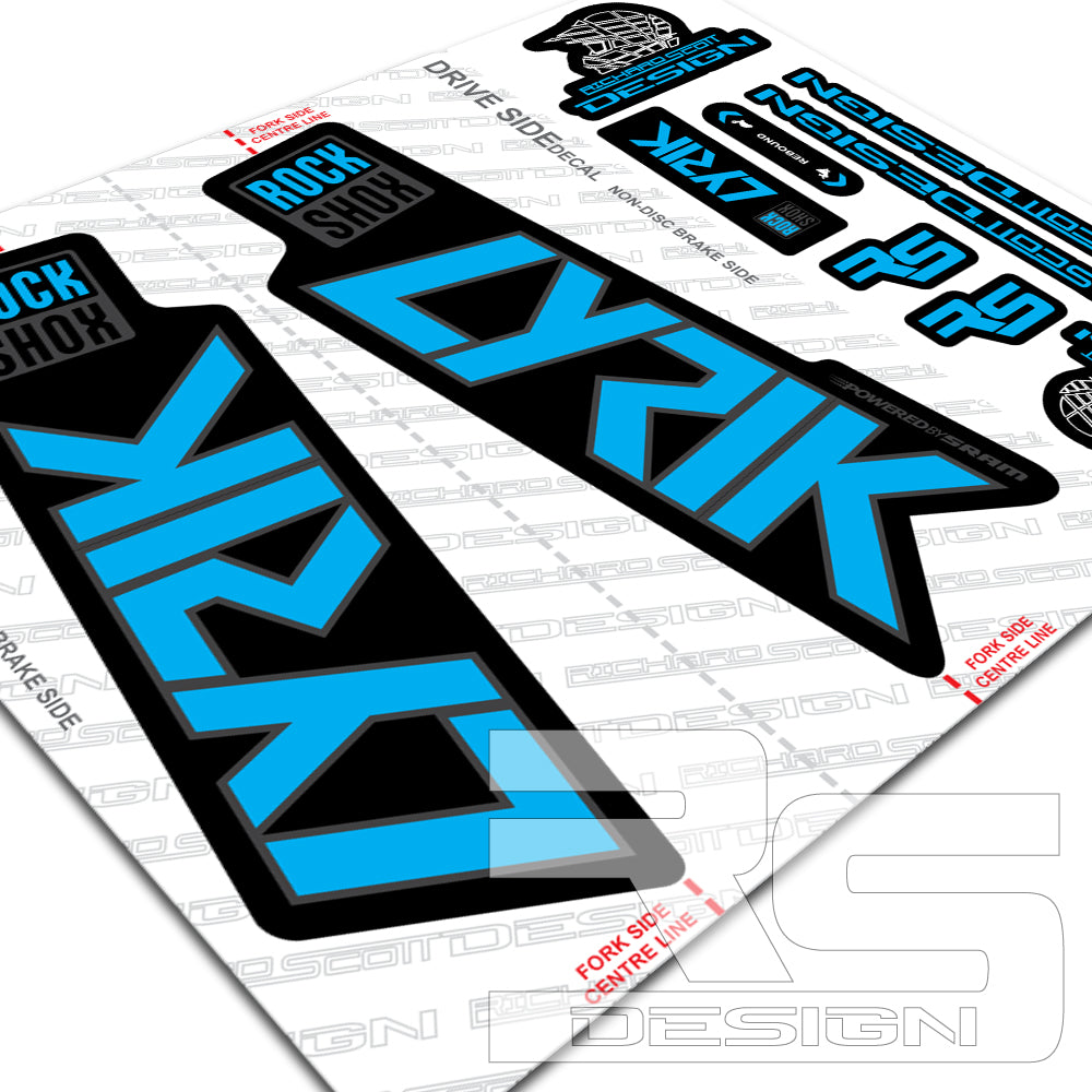 Fall 2020 Decals.2020 Rs Lyrik Style Decals