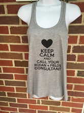 R + F Keep Calm Racerback