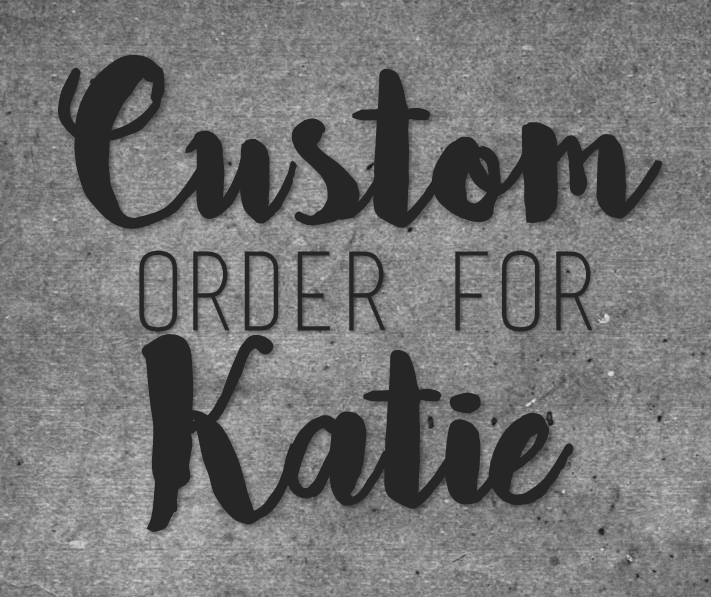Custom Onesie for Katie