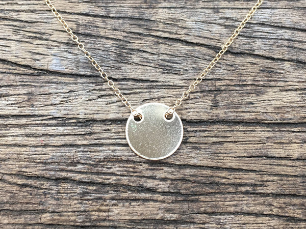 Shiny Coin Necklace