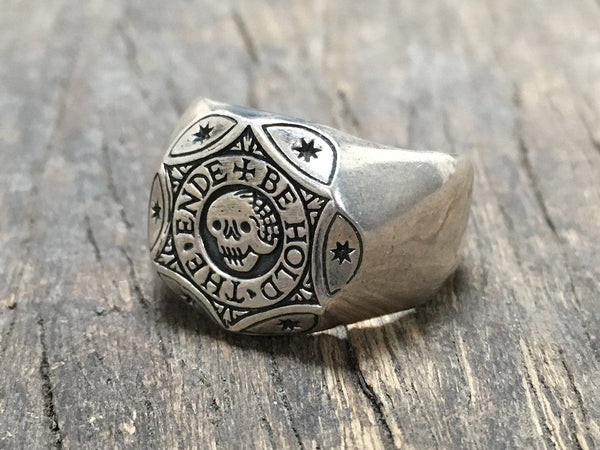 Behold The Ende Signet Ring