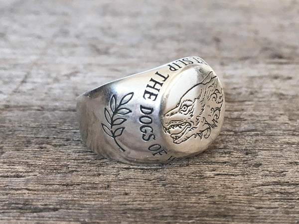 Dogs of War Signet Ring