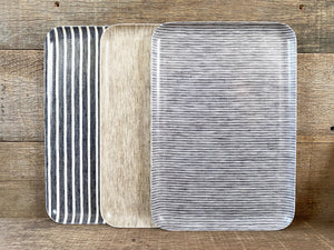 Coated Linen Tray, Large