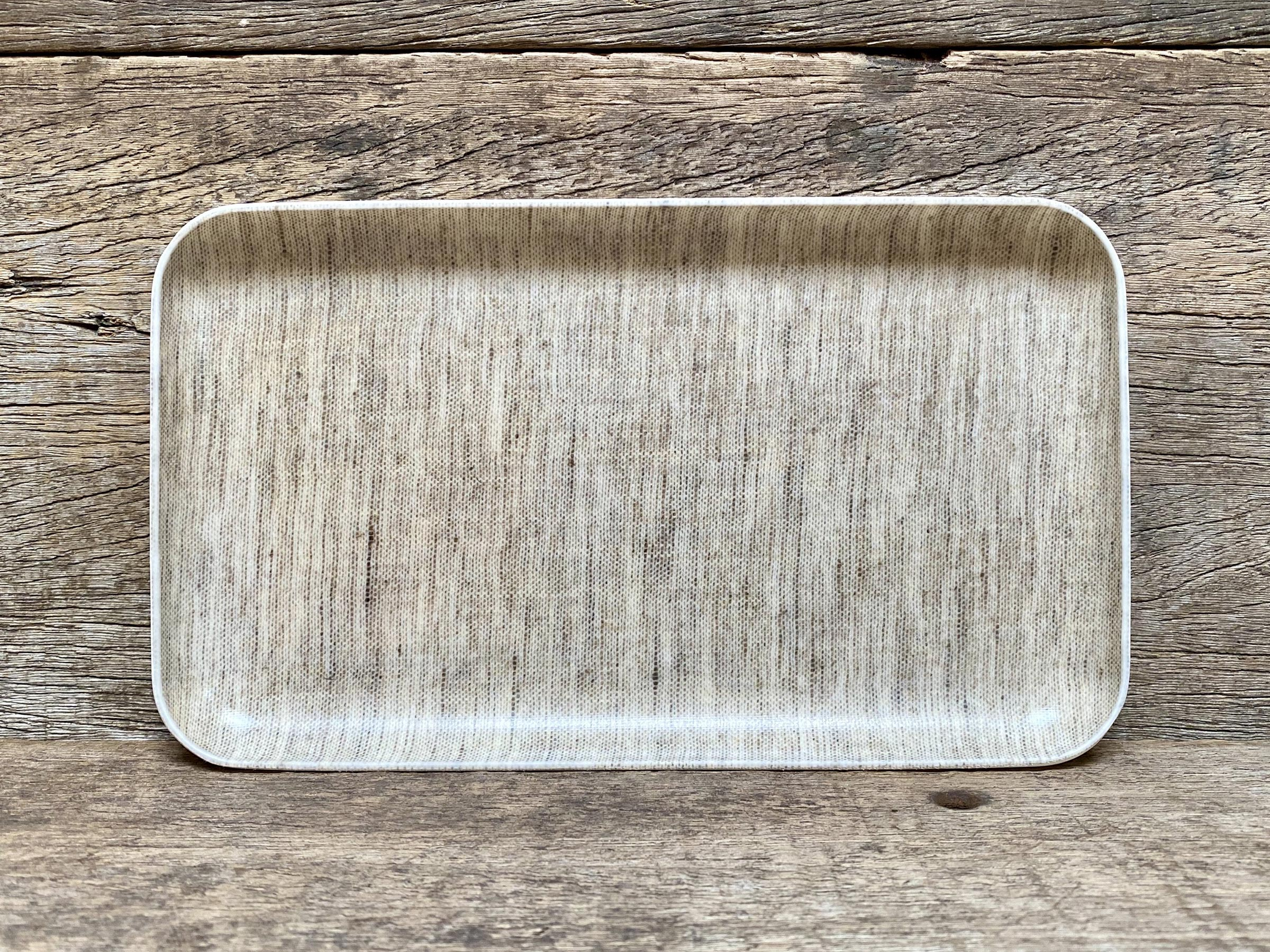 Coated Linen Tray, Small