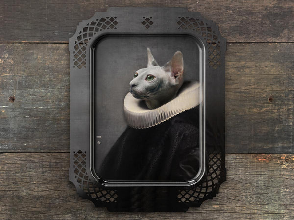 Portrait Platter le Chat