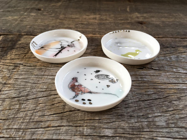 Flora & Fauna Tiny Dish Set