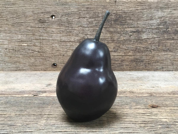 Ceramic Pear: Black