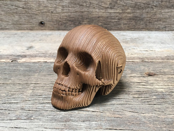 Vegan Mini Skull