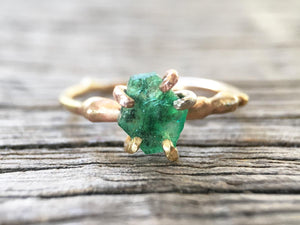 Pakistan Emerald Ring