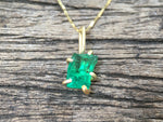 Load image into Gallery viewer, Zambian Emerald Pendant