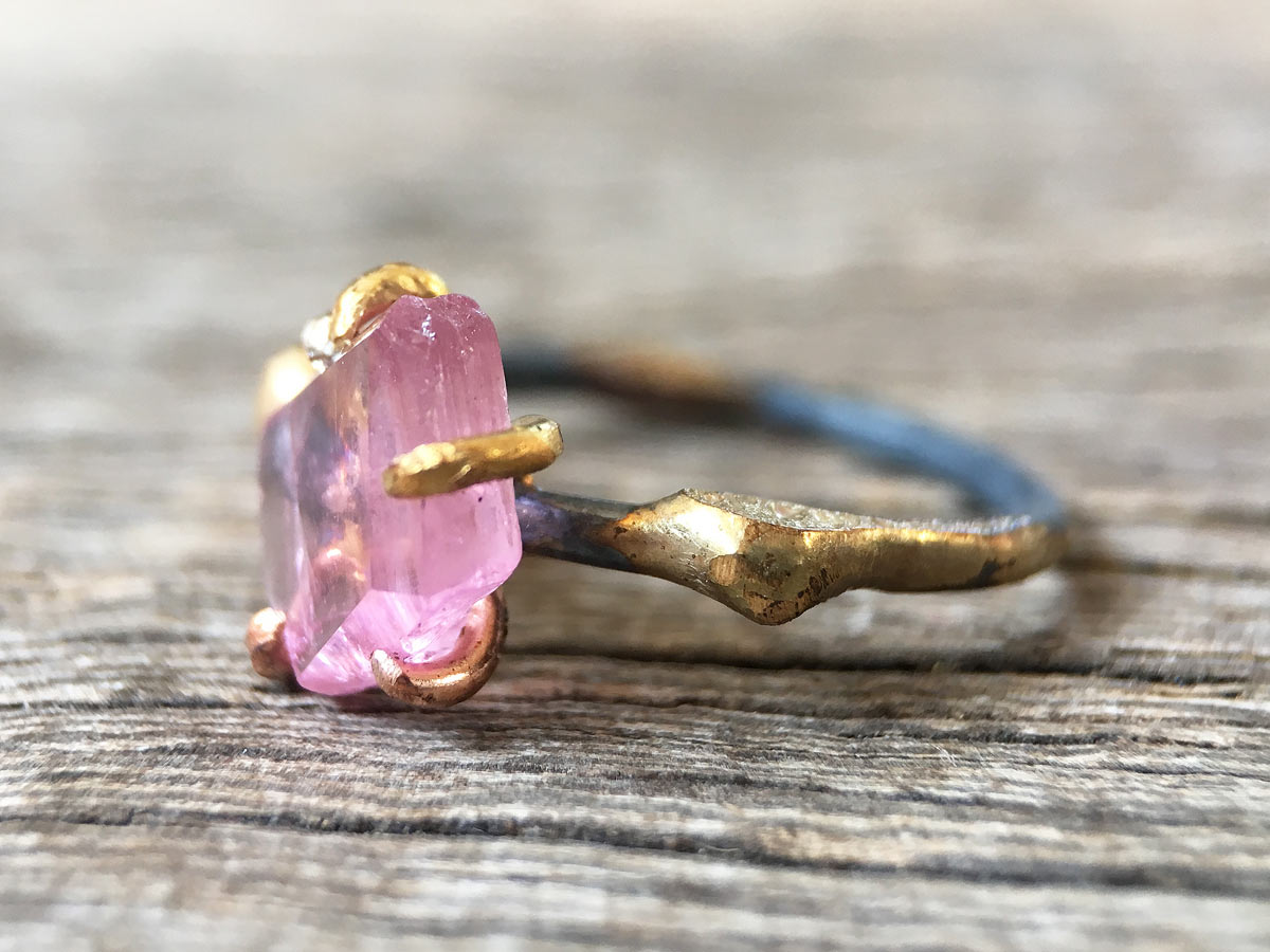California Tourmaline Ring