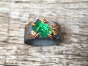 Zambian Emerald Ring
