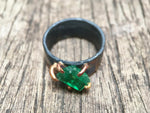 Load image into Gallery viewer, Zambian Emerald Ring