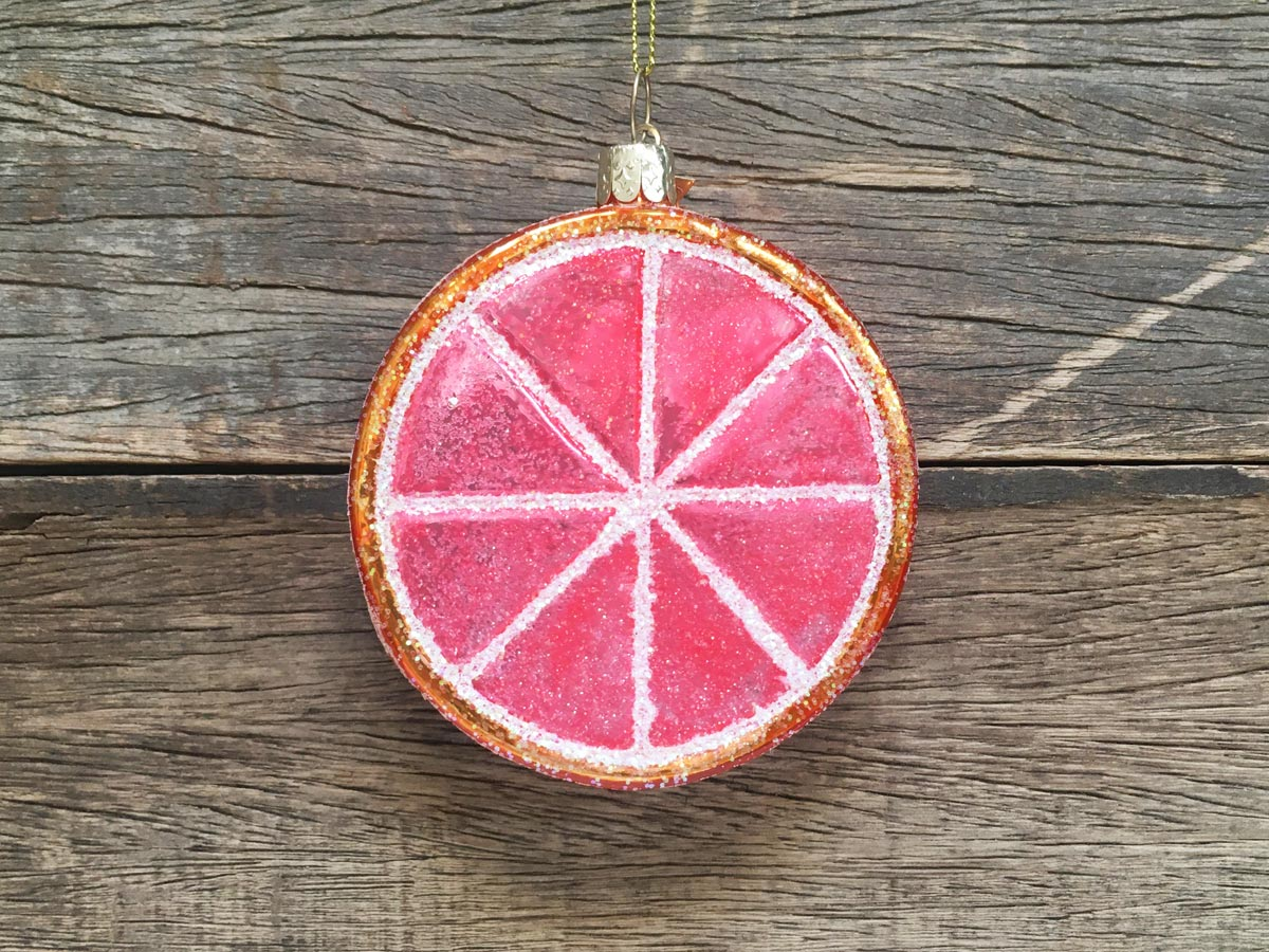 Christmas Grapefruit Slice