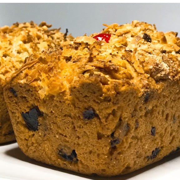 Coconut Raisin Bread - Loaves