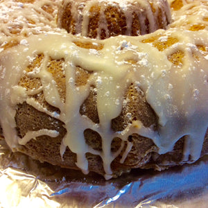 The Bread Basket | Double Down Lemon Velvet Cake