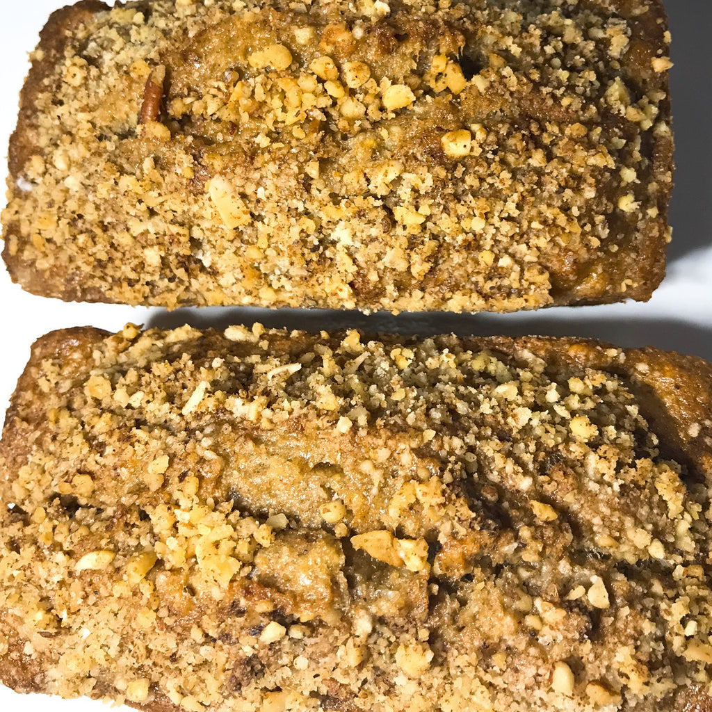 Banana Mixed Nut Bread