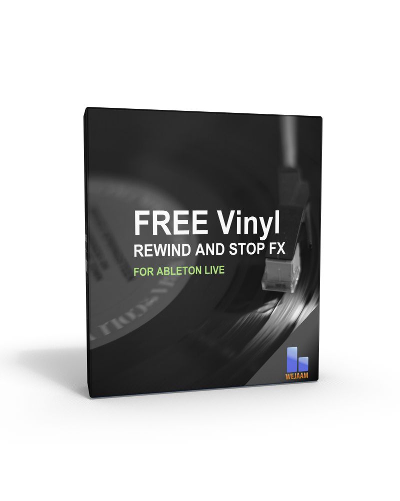 Free Audio Effects for Ableton Vinyl Stop and Rewind - FUTURBEATS