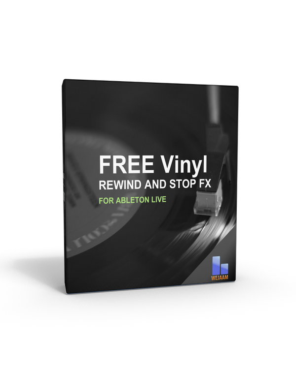 Free Audio Effects for Ableton Vinyl Stop and Rewind