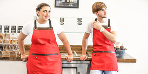 Koda Blackshaw Aprons (Red)
