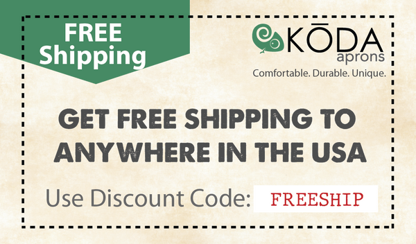 Use Code 'FREESHIP for free Shipping anywhere within the Continental USA
