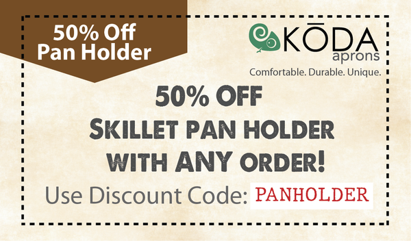 50 percent off skillet pan holder coupon