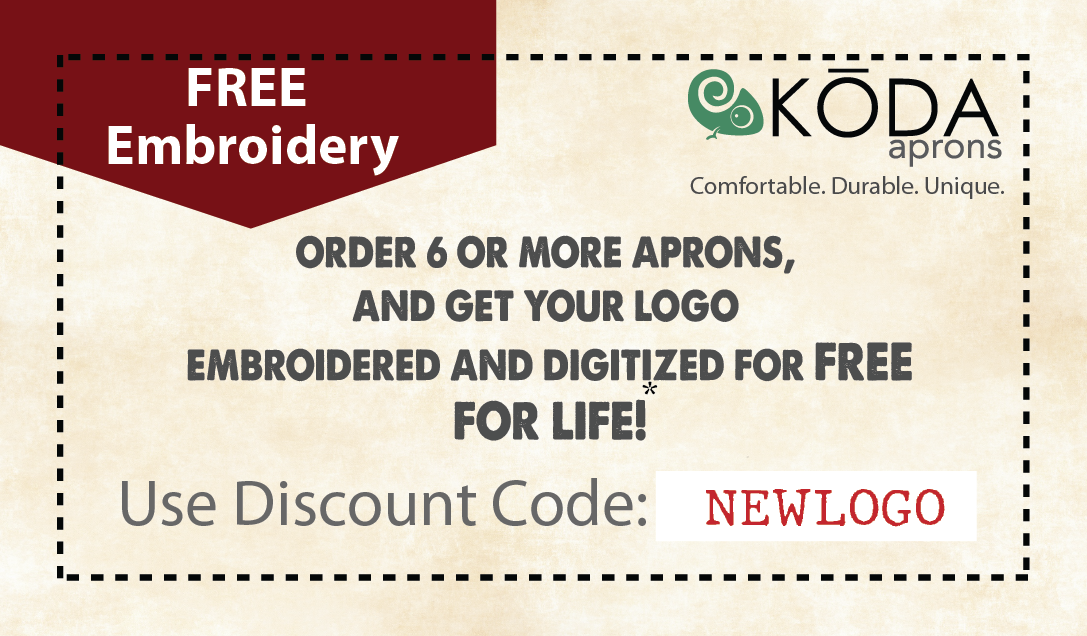 Order 6 and get free embroidery