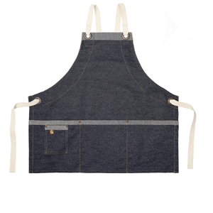 Koda Stilwell Fold-Up Bib Apron (Denim)