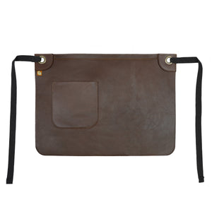 Koda Tanoak Leather Waist Apron
