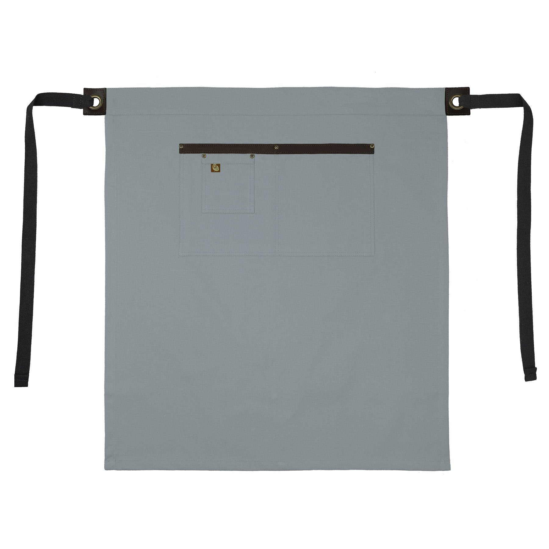 Koda Blackshaw Euro Bistro Apron (Light Grey)