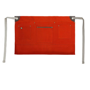 Koda Renwood Short Bistro Apron (Red)