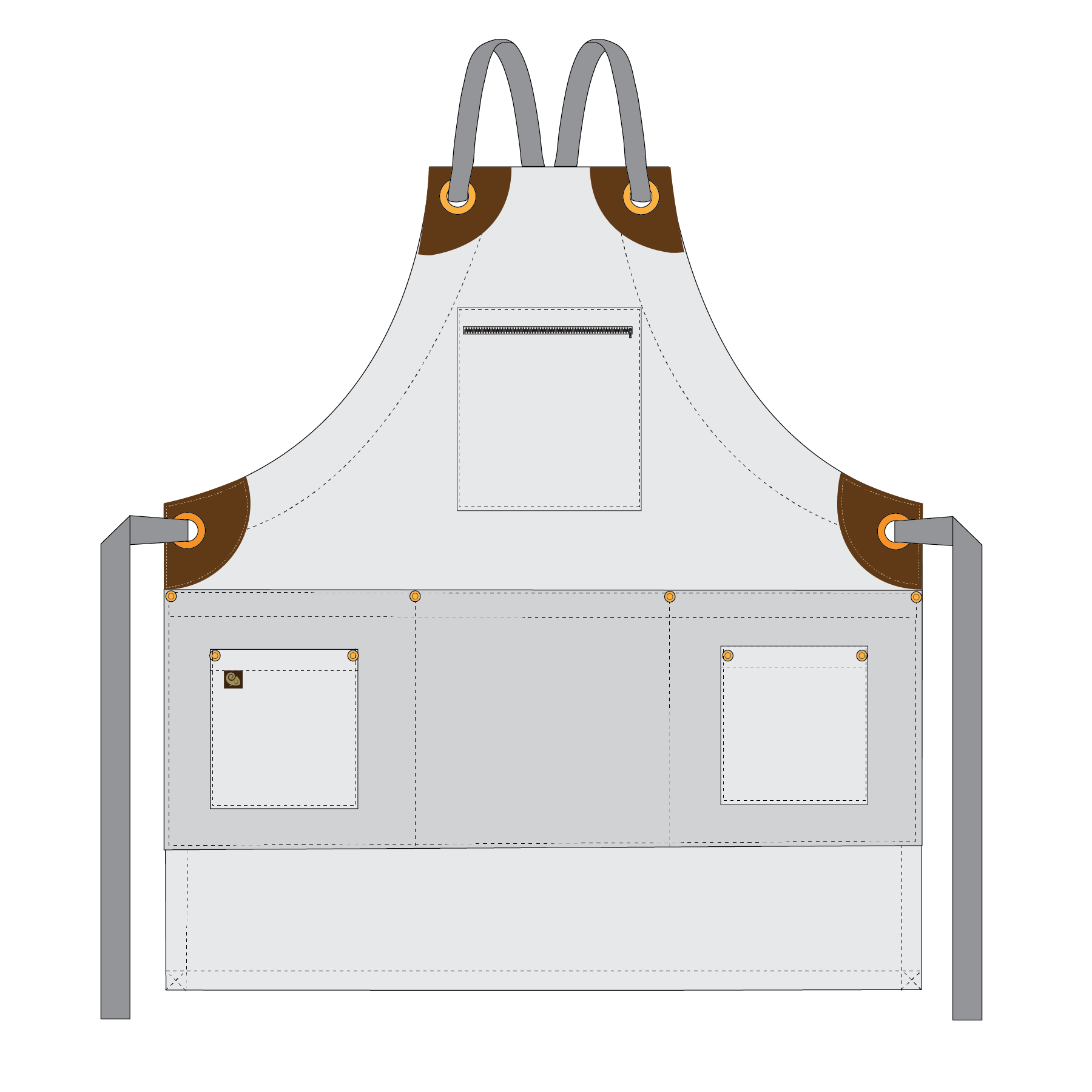 Renwood - Full Bib Apron