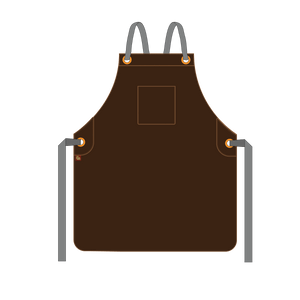 Tanoak - Full-Leather Bib Apron