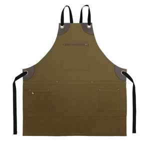 Koda Renwood Full Bib Apron (Tobacco)