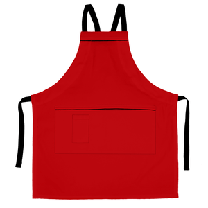 Koda Aspen Full Bib Apron (Red)